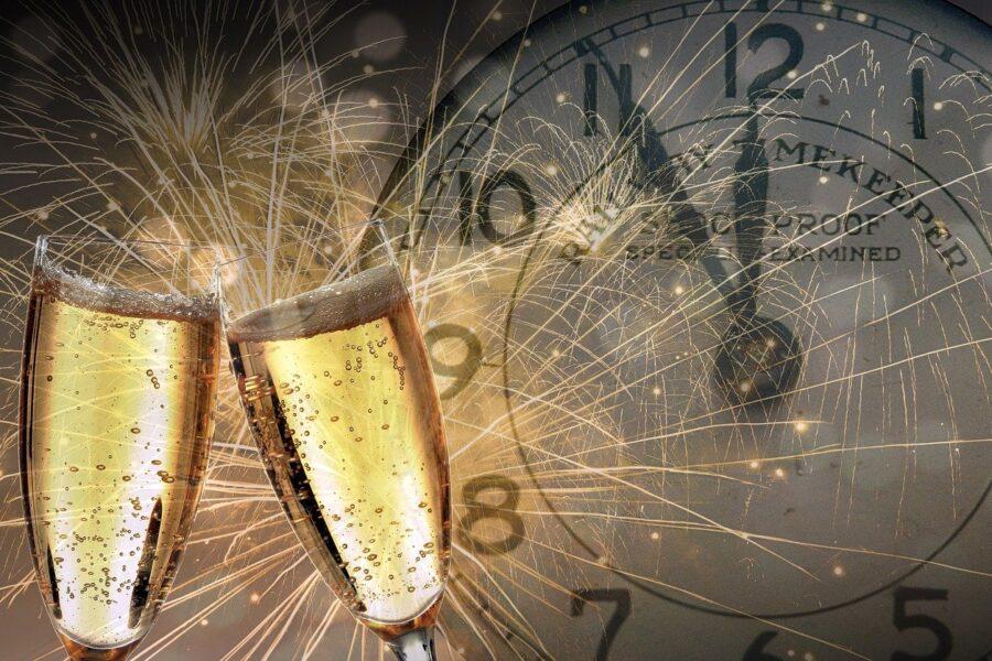 Un brindisi per il nuovo anno