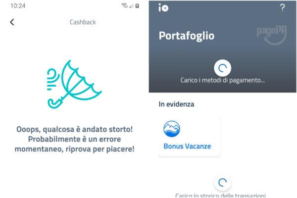 Cashback, il primo giorno è già un caos: l'app Io subito bloccata per i troppi accessi