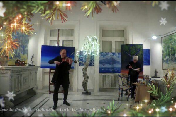 """Pascale e il buon Natale artistico: """"L'arte cura e fa bene anche ai medici"""""""
