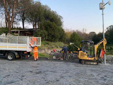 Grande progetto Vesuvio, al via i lavoro di riqualificazione della pineta di Terzigno