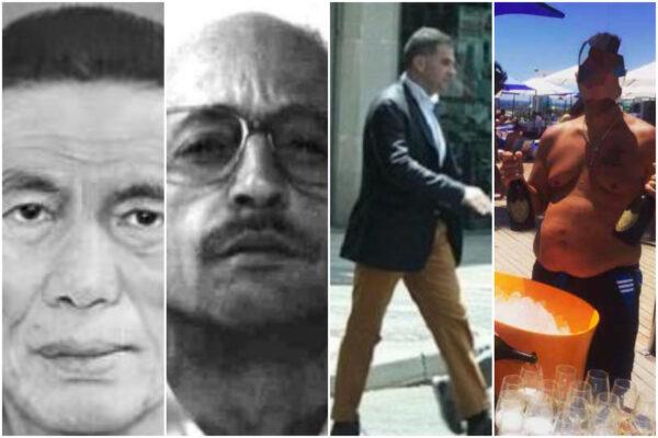 Da sinistra a destra: Junzō Okudaira, Renato Cinquegranella, Raffaele Imperiale, Raffaele Mauriello