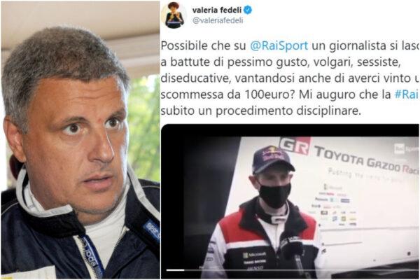 """Sessismo in diretta sulla Rai, la battutaccia del giornalista """"per scommessa"""" fa scoppiare il caso"""
