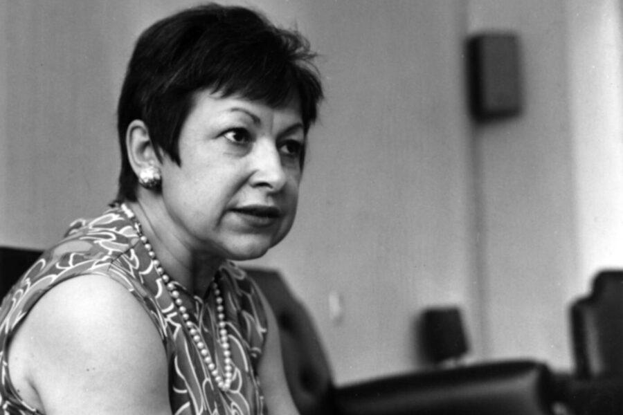 Il tributo dell'establishment a Lidia Menapace che la trattò da rompiscatole