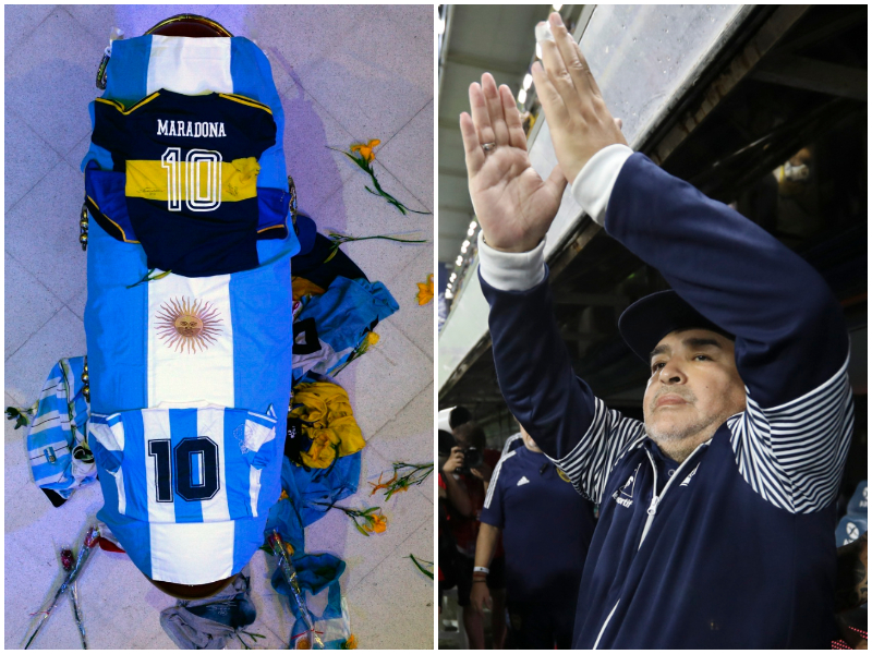 Maradona, la frase che ha voluto sulla lapide El Pibe de Oro: l'epitaffio