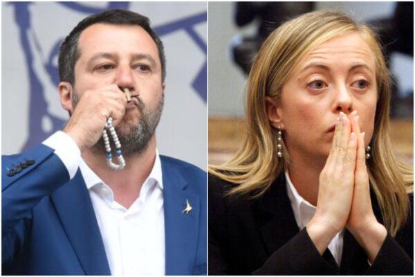 Salvini e Meloni, come fate a dirvi cristiani?