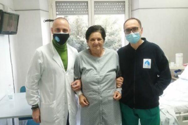 Operazione salvavita da record a Napoli: al Cardarelli rimosso tumore da 20 chili