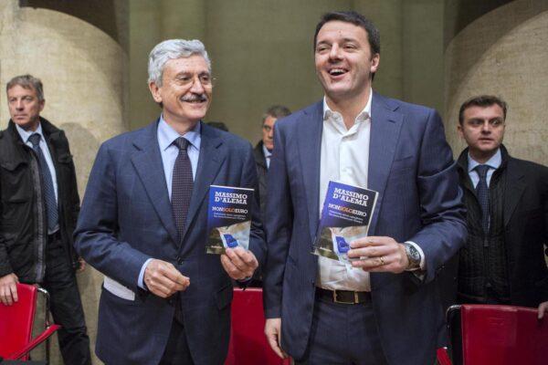 D'Alema e Renzi parlano, dialogo o pace passeggera?