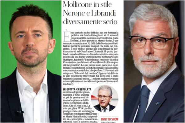 Scanzi difende l'intoccabile Conte e inventa il giornalismo con la bava alla bocca