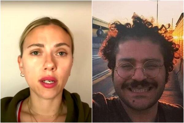 """Zaki, l'appello di Scarlett Johansson per la liberazione dello studente: """"Accuse false"""""""