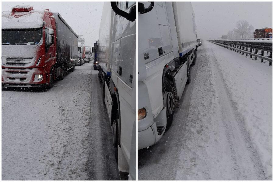 Dopo la bufera di neve riapre l'A7: Autostrade annuncia rimborsi ai viaggiatori