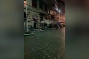 Locali distrutti sul Lungomare di Napoli, BCC approva misure finanziarie di sostegno