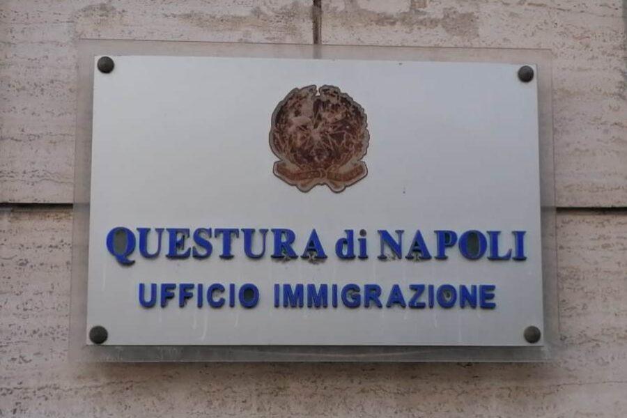 Ufficio Immigrazione di Napoli, arrivano le prenotazioni online per evitare file e assembramenti