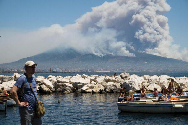 Incendi boschivi, il Parco Nazionale del Vesuvio rafforza la sicurezza