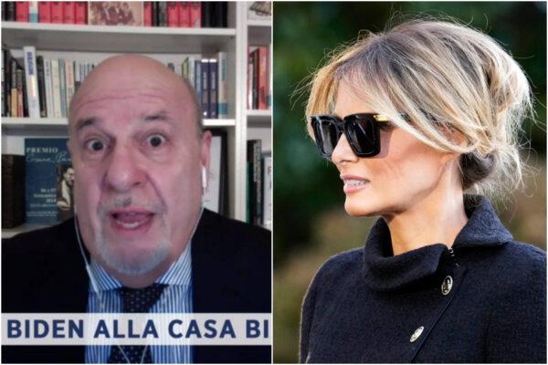 """""""Melania è un'escort"""", lo scivolone di Friedman scatena la bufera social: """"Inammissibile sessismo su tv pubblica"""""""