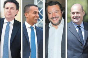 Mattarella chiede unità ma tutti giocano allo sfascio…