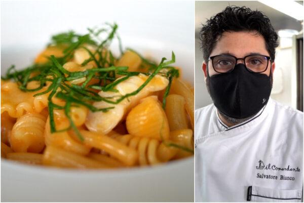 Ricetta della pasta mista con la zuppa di pesce, i segreti dello chef stellato Salvatore Bianco
