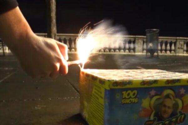 Capodanno, a Napoli lo spettacolo dei fuochi d'artificio