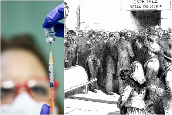 Vaccinare un milione di persone in una settimana, il modello è la Napoli che sconfisse il colera