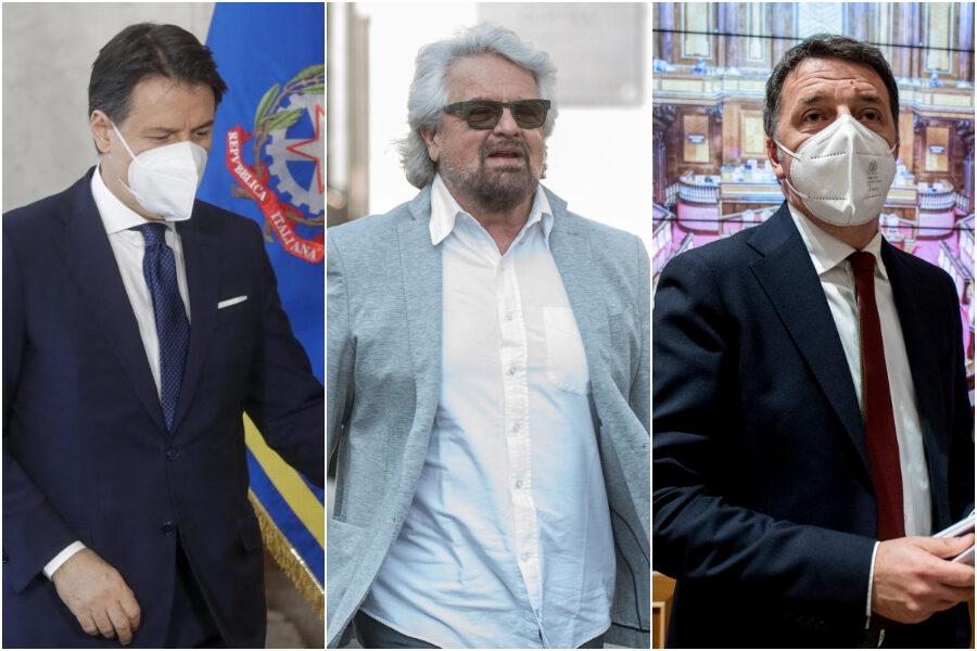 """Beppe Grillo apre al """"patto tra partiti"""" e riparte la trattiva nella maggioranza: Zingaretti mediatore per ricucire con Renzi"""