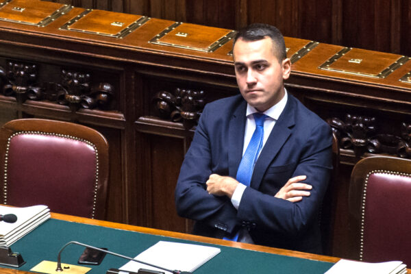 Foto Valerio Portelli/LaPresse 27-11-2019 Roma, Italia Camera dei Deputati – Question Time Luigi Di Maio Politica Nella Foto: Luigi Di Maio  Photo Valerio Portelli/LaPresse 27 November 2019 Rome,Italy Chamber of Deputies – Question Time Luigi Di Maio Politics In the pic: Luigi Di Maio