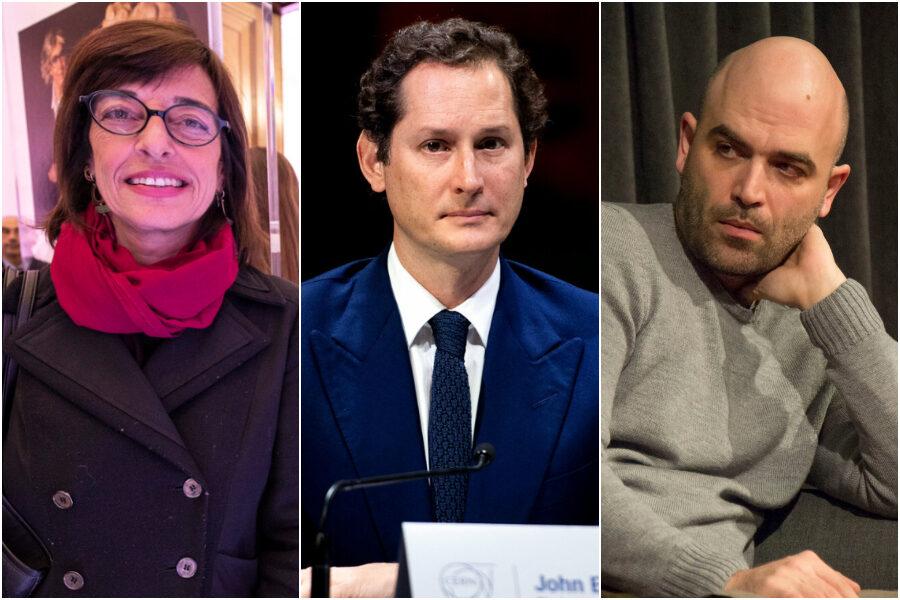 Il retroscena: guerra tra Repubblica e Corriere, dopo lo scippo di Saviano Elkann voleva vendicarsi con Sarzanini