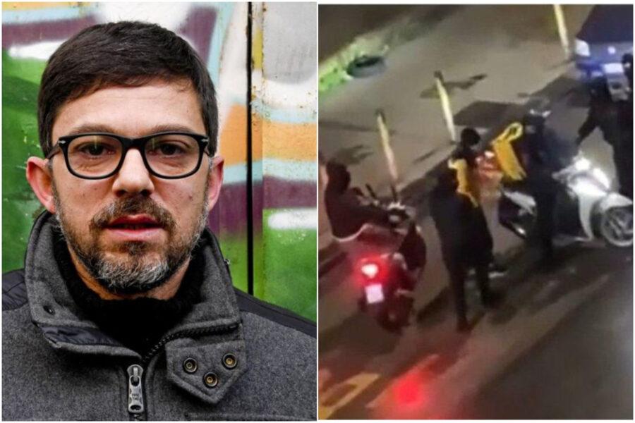 Rider picchiato e rapinato, fermati quattro minori: la gang in azione con scooter rubato, pistola e coltello