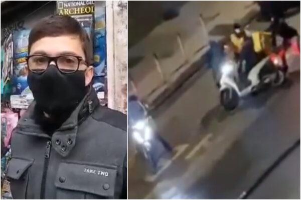 """Rider picchiato e rapinato, parla Gianni: """"Facevo il macellaio, arrabbiato per quei ragazzini"""""""