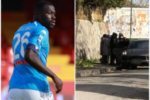Arriva il freddo glaciale, Koulibaly regala giacconi del Napoli ai più poveri