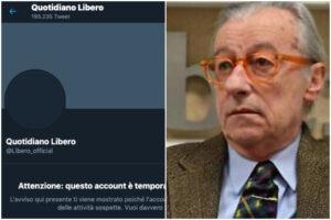 """Libero sospeso da Twitter, le """"attività sospette"""" del quotidiano bloccate sul social"""