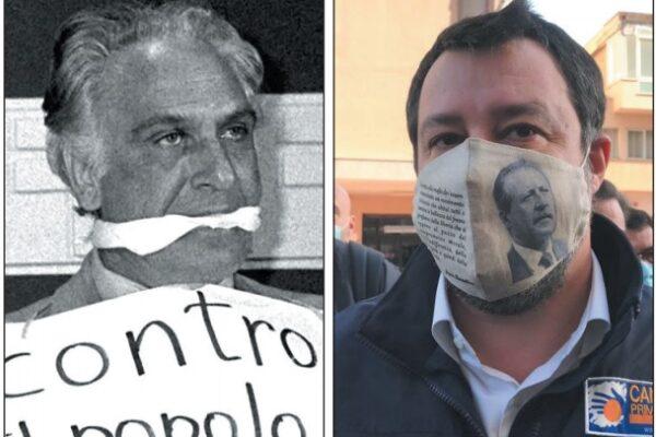 Salvini non è Pannella, sotto la maschera il nulla