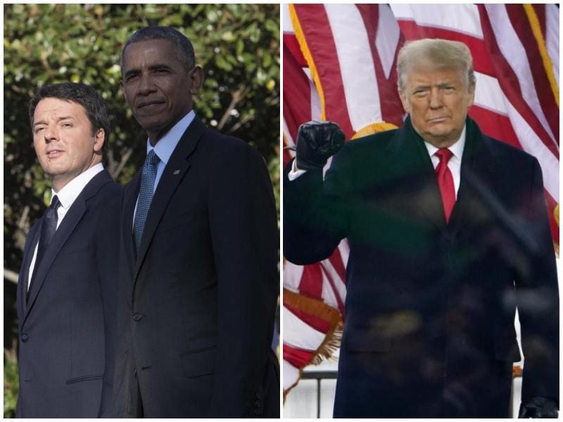 """""""Renzi ha tramato contro Trump"""", l'ultimo delirio dei complottisti USA porta in Italia"""