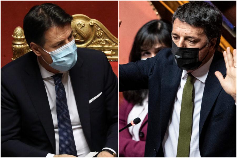 """Italia Viva offre la sponda a Conte: """"Riaprire confronto senza pregiudizi"""", ma i 5 Stelle frenano"""