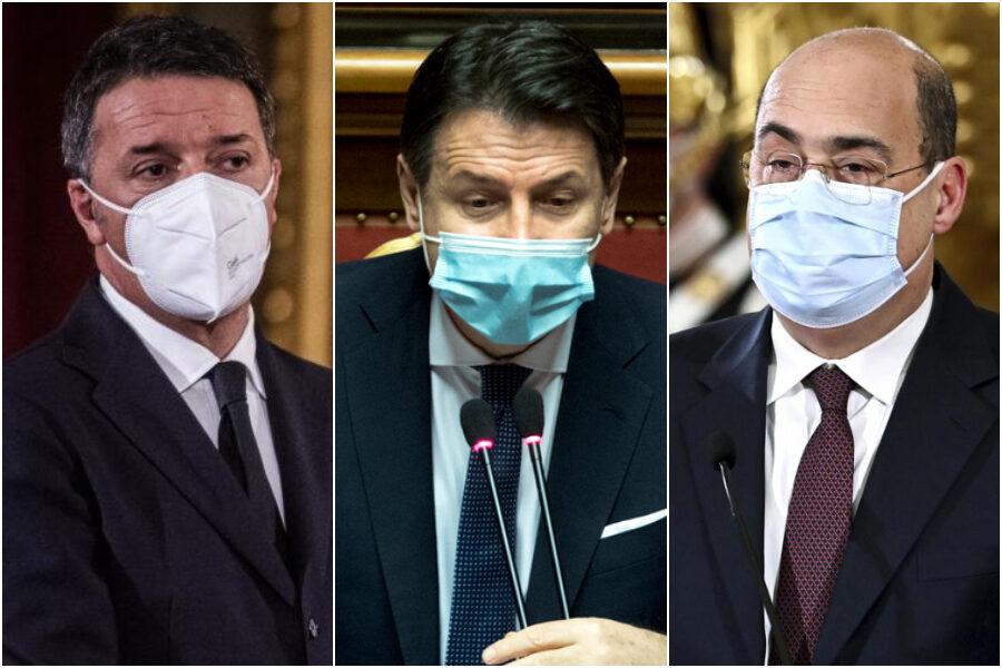 Il retroscena: quali sono le vere mosse di Renzi, Conte e Zingaretti