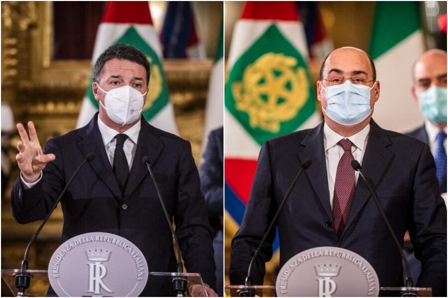 Consultazioni, Renzi apre a mandato esplorativo: PD schiacciato sul premier dimissionario
