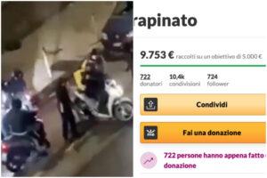 Rider picchiato e rapinato, il gran cuore dei napoletani: raccolti migliaia di euro per Gianni