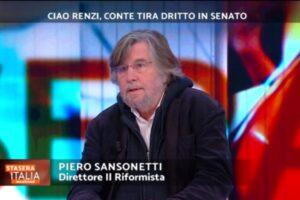"""Sansonetti: """"Conte è un disastro, Draghi soluzione più ragionevole"""""""