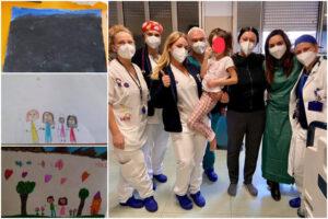 """Covid, la piccola Luisa salvata al Santobono: """"Virus maledetto, mi vaccinerò per i bambini"""""""