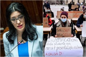 """Azzolina: """"La Dad non funziona più, gli studenti hanno ragione a essere arrabbiati"""""""
