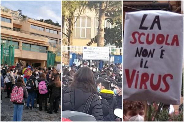 """Riaprono le scuole, caos e assembramenti. Genitori divisi: """"Spero in aumento contagi così richiudono tutto"""""""