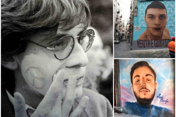 """Scoppia la guerra dei murales a Napoli: """"Cancellato Siani, resistono quelli dei baby rapinatori"""""""