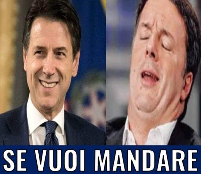"""""""Se vuoi mandare a Casa Renzi iscriviti"""": bufera per la Storia Fb condivisa dal profilo ufficale di Conte su Fb"""