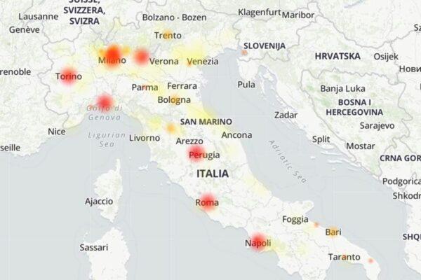 Tim down, problemi alla rete internet in Lombardia: caos smartworking