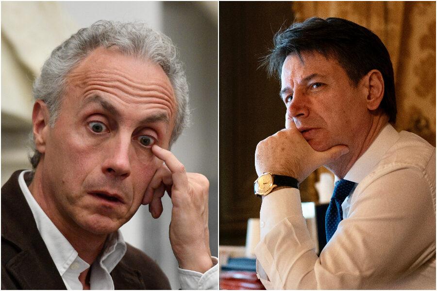 Travaglio inguaia Conte e svela l'uso dei soldi pubblici per un sondaggio sul premier