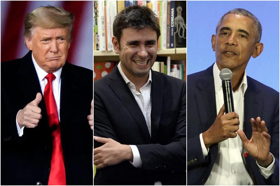 """Di Battista e l'esaltazione di Trump, quando il pasdaran grillino dava dal """"golpista"""" a Obama"""
