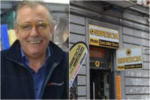 Napoli piange Umberto Sbrescia, lo storico fotografo trovato morto nel suo negozio