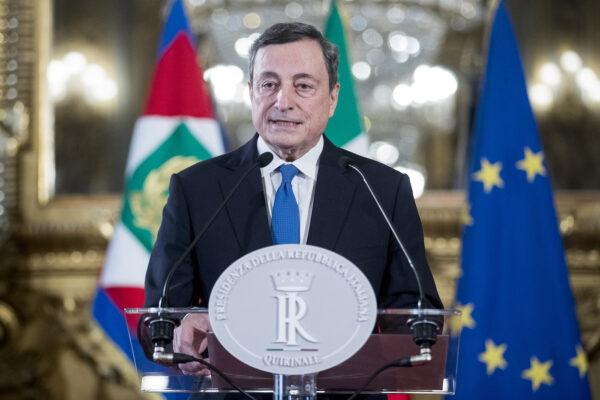"""Mario Draghi: """"Sono fiducioso ci sia unità"""""""
