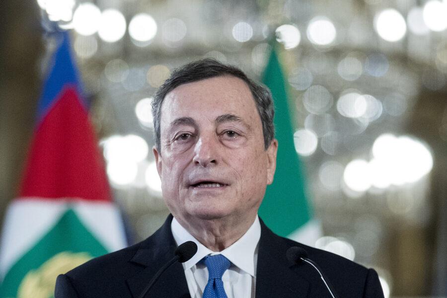 Draghi detta la sua agenda di 8 punti: i partiti prendono appunti