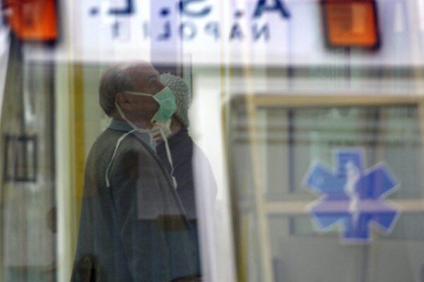 ©Lapresse 02-11-2009 Napoli,Italia Cronaca Ospedale Cotugno nuovi casi di influenza A Nella Foto:nuovi casi di influenza A *** Local Caption ***