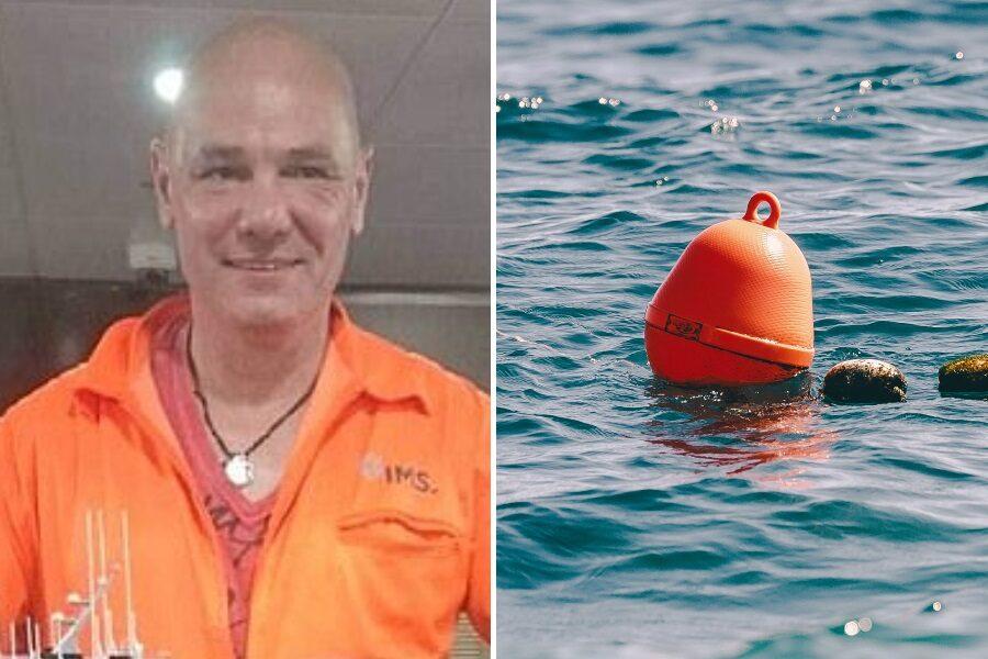 Cade in mare nel mezzo del Pacifico, si salva aggrappandosi per 14 ore ad una boa