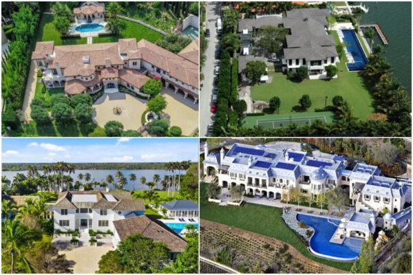 Quali sono le 10 case degli sportivi più costose del mondo: dalla villa di Tiger Woods a quella di David Beckham